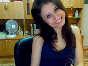 Breathtaking Brazilian Student Stripping On Webcam