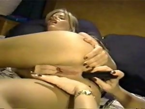 2 Blondie Homosexual women Seducing a Black haired