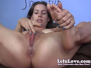 Lelu Love-Closeup Penetration Creampie Juicy