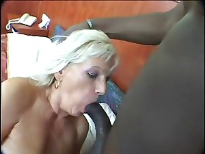 Blondie Older Rubber toy and Savage Swarthy Prick