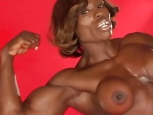 Exposed muscle swarthy animal Domme Treasure