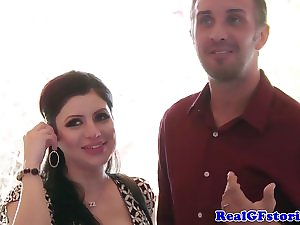 Untutored cheating wife facialized next banging