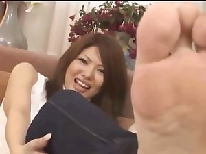 Shy Desirable japanese Soles