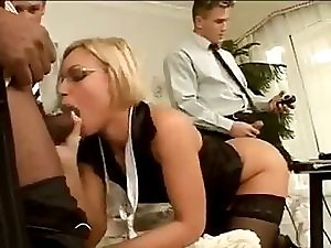 Office Bang with Silvia