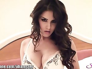 SunnyLeone Sunny Leone in her almost all pleasant underwear here!
