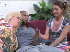 Ebon man bangs and creampie faintly legal maiden and granny