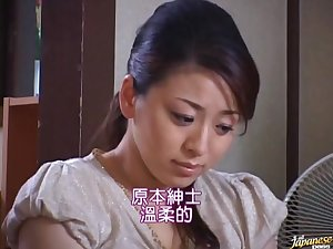 Breasty Mamma Reiko Yamaguchi Receives Drilled From behind