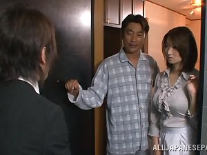 Mio Takahashi enjoyable Japanese model is hooked on sex