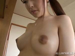 Glamorous housewife Iroha Sagara acquires difficult fucking