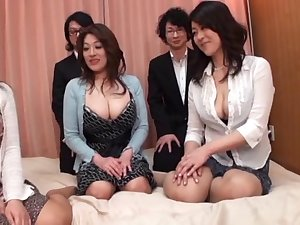 Japanese AV Models are into a sexy and savage face-sitting and greater amount