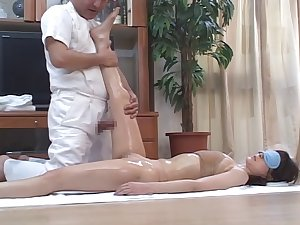 Lascivious Japanese Wives Massaged and later Drilled at Abode 4 - CM