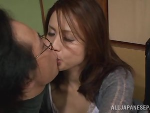 Yurie Matsushima wicked Oriental housewife in locality 69