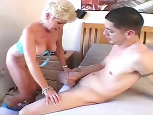 Granny Wife Jewel Nailed By Youthful Dude