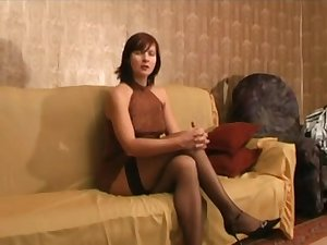 Older Russian floozy Vika acquires screwed and toyed
