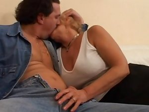 European sex movie scene with masturbation and anal frolic