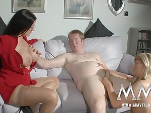 MMVFilms Video: The Sexnanny??s Premier Pacient