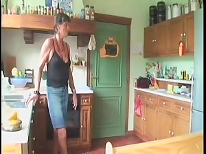 Dutch mature granny Sofie with friend and old man