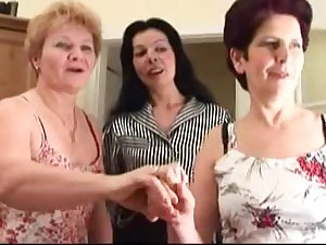 Granny has a homosexual woman venture with a younger hussy