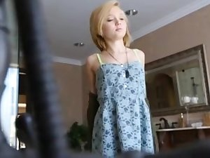 Petite Hot young lady Screwed Tough And Swallows !