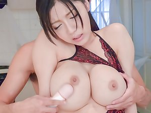 Quaint Japanese model Miho Ichiki in Concupiscent JAV uncensored Facial episode