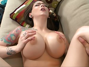 Huge titted boss Ashton Pierce