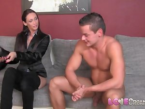 Devotion Creampie Casual casting creampie for agent