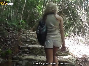 Thailand porn ventures and non-professional fuck on a motorbike