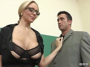Twink remarkable hot student drilled by her gracious handler