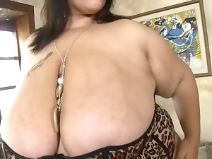 Marvelous BBW 48D Milk sacks Orall-service