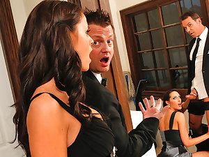 Kortney Kane & Steven St. Croix in Wicked America