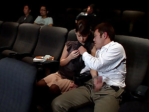 Nasty Oral job In The Episode Theater