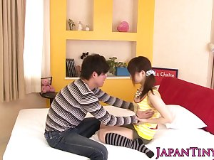 oriental pornstar Miku Airi acquires her love bubbles spunked