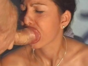 Hardcore cum-swallowing compilation movie!