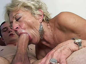 Late grandmother is in this place to remember her fellatio skills