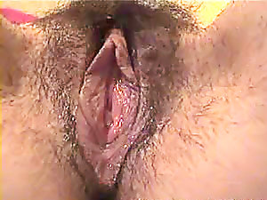 This guy licks the soaked curly bawdy cleft