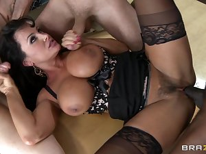 Awesome foursome with Lisa Ann!
