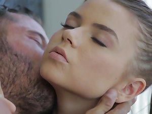 Lustful doll acquires drilled and splashed