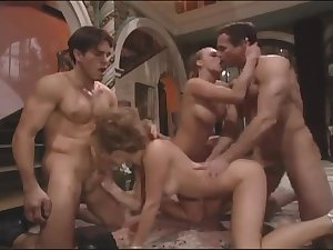Jenna Jameson in group-sex
