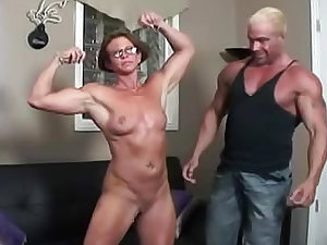 Milf is a fitness and fuck crankery on camera