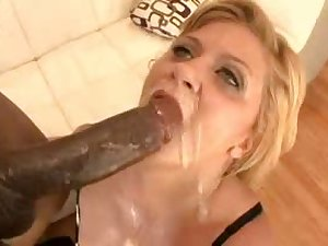 White underwear milf takes darksome