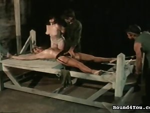 Perverted vintage thraldom clip with wicked operate