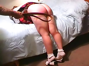 Schoolgirl spanked by grandpapa