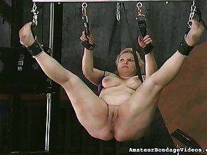 Older chicks abased in dungeon