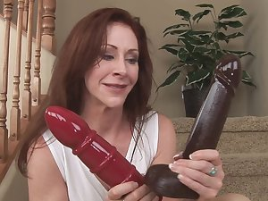 Mama Catherine de Sade and her hardcore sex toy