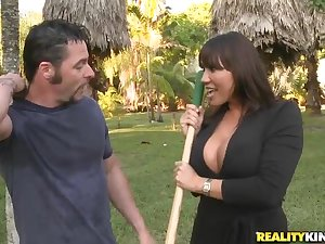 Ava Devine laid in the toilet room