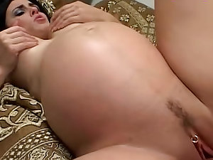 Hot preggo virgin laid by 2 studs