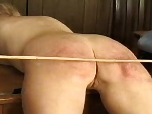 Drubbing and caning of wicked schoolgirls