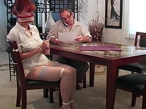 Bound and gagged milf carrot is hot