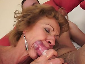 Older babe Katherin living screwed in her encounter
