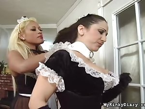 French maids operate slavery games